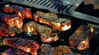 how to cook steak on a pit boss pellet grill